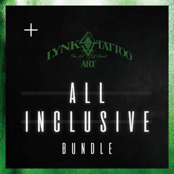 Lynk Tattoo Art All inclusive bundle