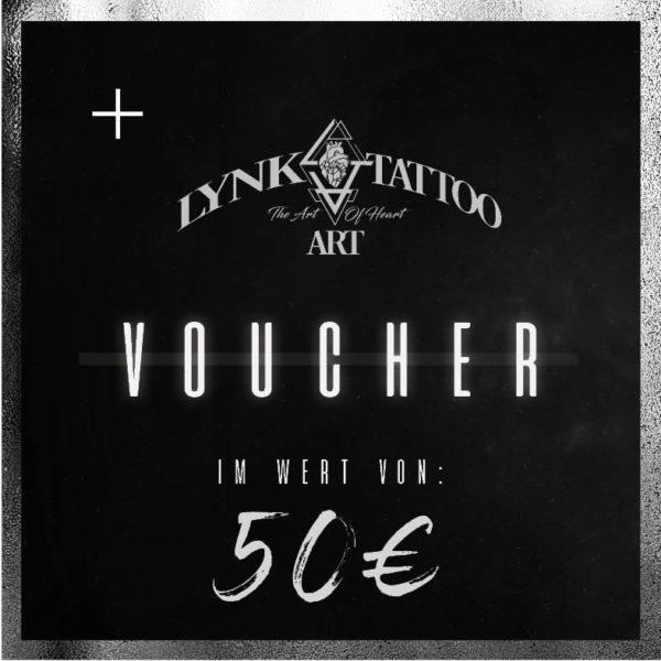 Lynk Tattoo Art Gutschein 50