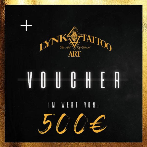 Lynk Tattoo Art Gutschein 500